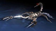 Klapp-Skorpion für die Hosentasche