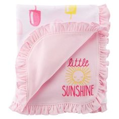 Just One You™Made by Carter\'s® Newborn Girls\' Popcicle Blanket $3.98 @ target