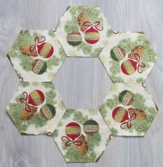 Fussy cutting made easy: learn this tip and start adding kaleidoscope effect to fabric bowls.