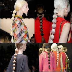 Muna's Coolture: Muna's Beauty Cage: The Bubble Ponytail Trend
