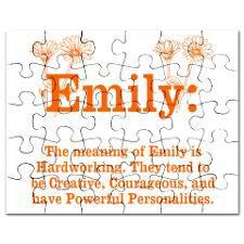 does emily mean