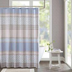 Clarice Cotton Shower Curtain