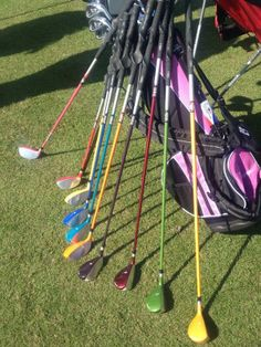 US Kids Golf  introduces kids hybrids (in several colors)!
