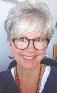 15 Best Short Haircuts For Women Over 70 | Short haircuts, Haircuts ... | Frauen Haare |