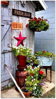 120 The Back 40 Wild West Gardening Ideas Outdoor Gardens Garden Art Yard Art