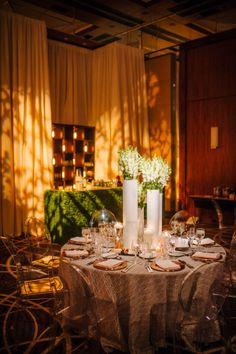 Boxwood Hedge Bars.  Wedding by Strawberry Milk Events: Becca & Brad's Industrial Romantic Wedding at the Four Seasons. Photos by: Eli Turner