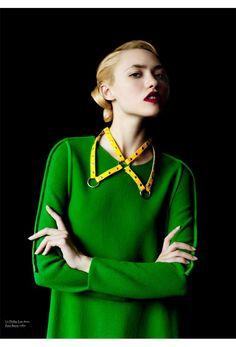 Model: Cora Keegan   Photographer: Billy Kidd   Stylist: Laia Garcia   Makeup: Victoria Stiles   Hair: Gregory Alan (via Victoria Stiles)