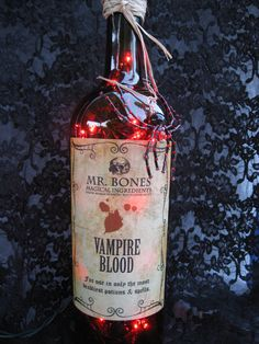 Halloween Vampire Blood Decoration  #scare2win an iPad courtesy of @Halloween Alley HQ