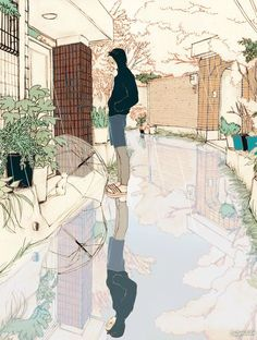 #anime #scenery #illustration Insta: iremgaml