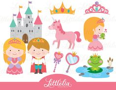 Princess clipart  Princess and the frog by LittleLiaGraphic