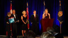Jamie Keeley and Marta Stratton at the 2011 Ottawa Police Gala