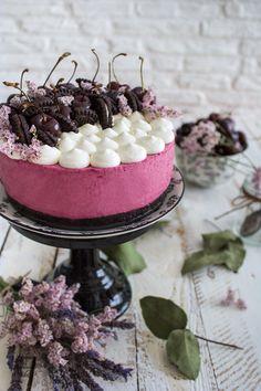 Yogurt, Cheesecake Pie, Cherry Cake, Acai Bowl, Panna Cotta, Cooking, Breakfast, Ethnic Recipes, Cheese Cakes