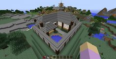 lizc864 minecraft my kai ie in the japanese religious village - Minecraft Japanese Village