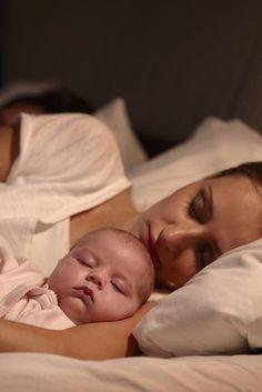 """""""Wer sein Kind im eigenen Bett schlafen lässt, spart sich später die Nachhilfe"""""""