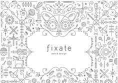 Art, Illustration, poster / Illustration from Fixate › PatternTap