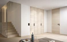 Wooden doors, glass doors, hinged doors, sliding and folding doors, parquet and wood panels. Discover Garofoli Made in Italy design.