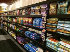 Wide span Shelving for all your Dog and Cat food!