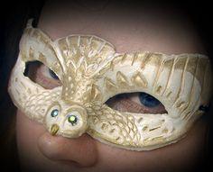 this is a cool owl mask.  Google Image Result for http://www.deviantart.com/download/167081665/Platinum_Owl_Mask_by_Namingway.jpg