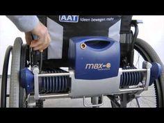 Kit para movimentação eléctrica de cadeira de rodas - YouTube