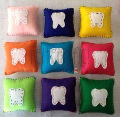 Handmade Felt Tooth Fairy Pillow Boy or Girl by felterrific, $3.50