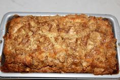 Living on Cloud Nine: AMISH APPLE FRITTER BREAD Apple Desserts, Apple Recipes, Delicious Desserts, Cake Recipes, Dessert Recipes, Yummy Food, Apple Fritter Bread, Apple Bread, Apple Fritters