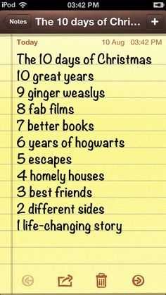 The Harry potter Christmas song