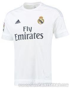 Equipación Home Adidas de Real Madrid 15/16