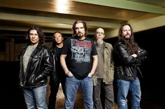 Dream Theater. The band that has changed my life. They kept me sane through many ups and downs.