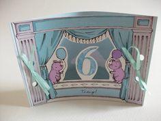 mini theatre age six card by kat whelan illustrations | notonthehighstreet.com