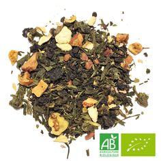 Thé oolong bio noix #thé, #bio, #cannelle, #orange, pétale de #rose, #pomme, #sencha, thé #oolong, #vanille bourbon Vanille Bourbon, Thé Oolong, Saveur, Strawberry Fruit