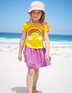 Hotchpotch Appliqué Dress 33344 Day Dresses and Pinnies at Boden