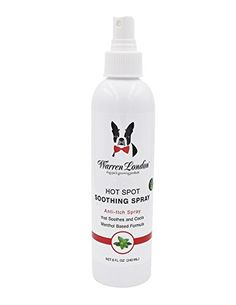 Warren London - Hot Spot Anti-Itch Soothing Pet Spray for Dogs >>> Check out this great product.