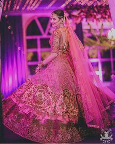 Top Bridal Lehenga design ideas from Trending designers in India Indian Bridal Outfits, Indian Bridal Lehenga, Indian Bridal Fashion, Indian Bridal Wear, Bridal Dresses, Indian Wear, Lehenga Designs, Wedding Lehnga, Wedding Bride