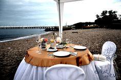 Kolacja zaręczynowa, dinner engagement Stylizacja i wykonanie: www.eventbyev.pl