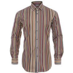 Paul Smith Shirts - Formal Slim Fit, Signature Stripe Shirt