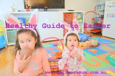 A Healthy Guide to Easter – Yep that time of year has come around again, Easter. Very few of us celebrate the real meaning behind Easter and instead teach our kids about the Easter bunny and feed them ridiculous amounts of chocolates, then watch them crash and burn by the end of the day. But it doesn't have to be like that. I don't mind my kids eating chocolate now and then, but the amount they receive for Easter from friends and family is crazy.   So if you were wanting ...