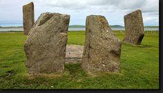 Stones of Stennes - Orkney Inseln - Scotland von Lothar Hentschel