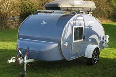 TURTLE - British TearDrop trailer CampRest.com
