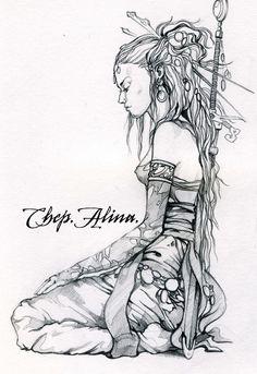 dragon warrior by ChepAlina