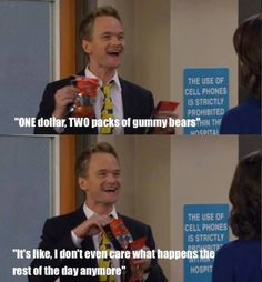 "When Barney had the best day. | 26 Times ""How I Met Your Mother"" Made You Laugh Uncontrollably"