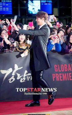 Lee Min Ho   Gangnam 1970 VIP Premier 01.20.2015