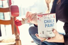 Chalk Paint is the miracle paint that'll make you want to repaint everything you see!