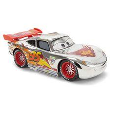 disney pixar cars rc silver turbo racer lightning mcqueen