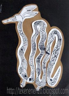 Door Mike, groep 7 Benodigdheden: tekenpapier oost-indische inkt kroontjespen zwart papier bruin inpakpapier schaar en lijm ...