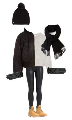"""""""My Winther look"""" by elina-isaksen on Polyvore featuring The Row, Timberland, Chloé, Vetements, UGG and Lacoste"""