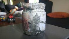 Syltetøyglass lykt