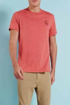 The Camberwell Badge Tee | Jack Wills  Shop - http://wills.ly/THxHXz   #Redtee #tshirt #Tee