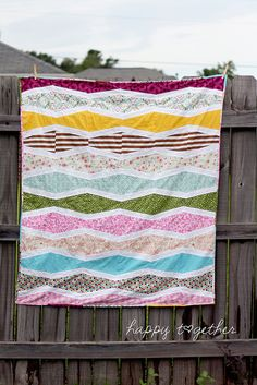 I've got to get into quilting. It's been a secret hobby want of mine for a while, this one makes me want to go buy the tools NOW!