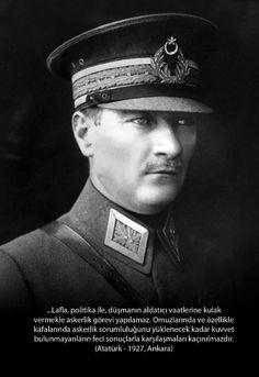 Başkomutan M.K. ATATÜRK.
