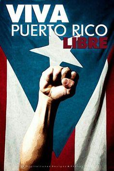 Viva Puerto Rico Libre!                                                                                                                                                                                 More